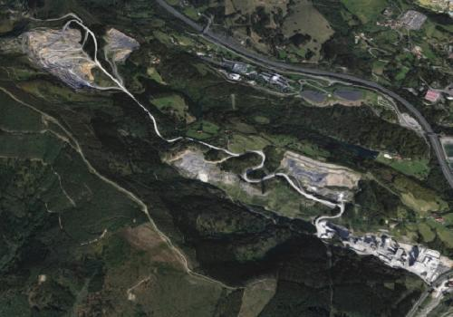 Vista aerea de Arrigorriaga